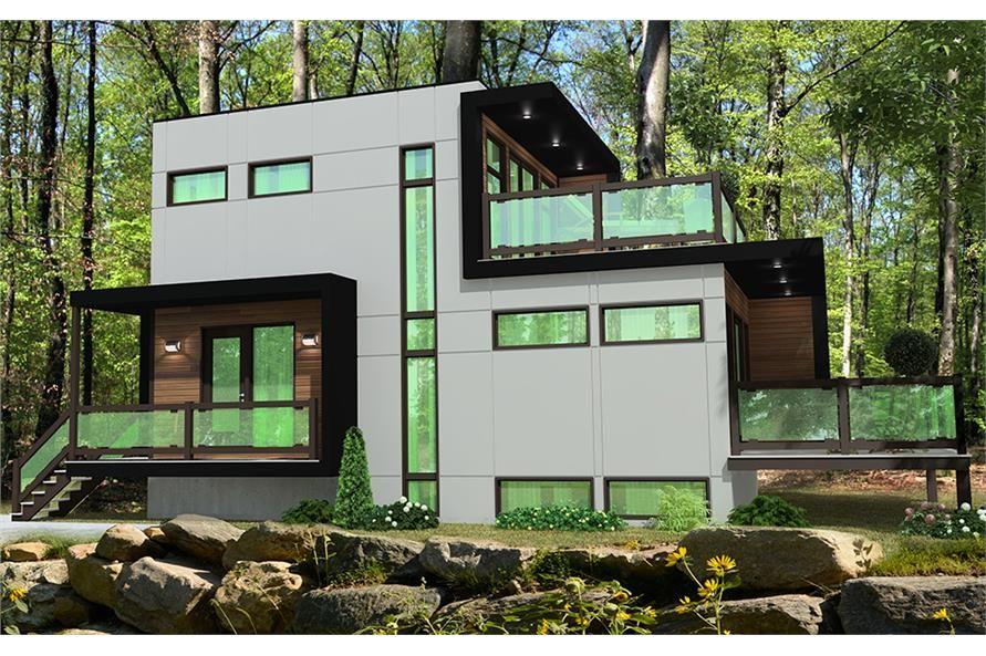 2 Bedrm 832 Sq Ft Cottage House Plan 158 1304 Modern House Plans