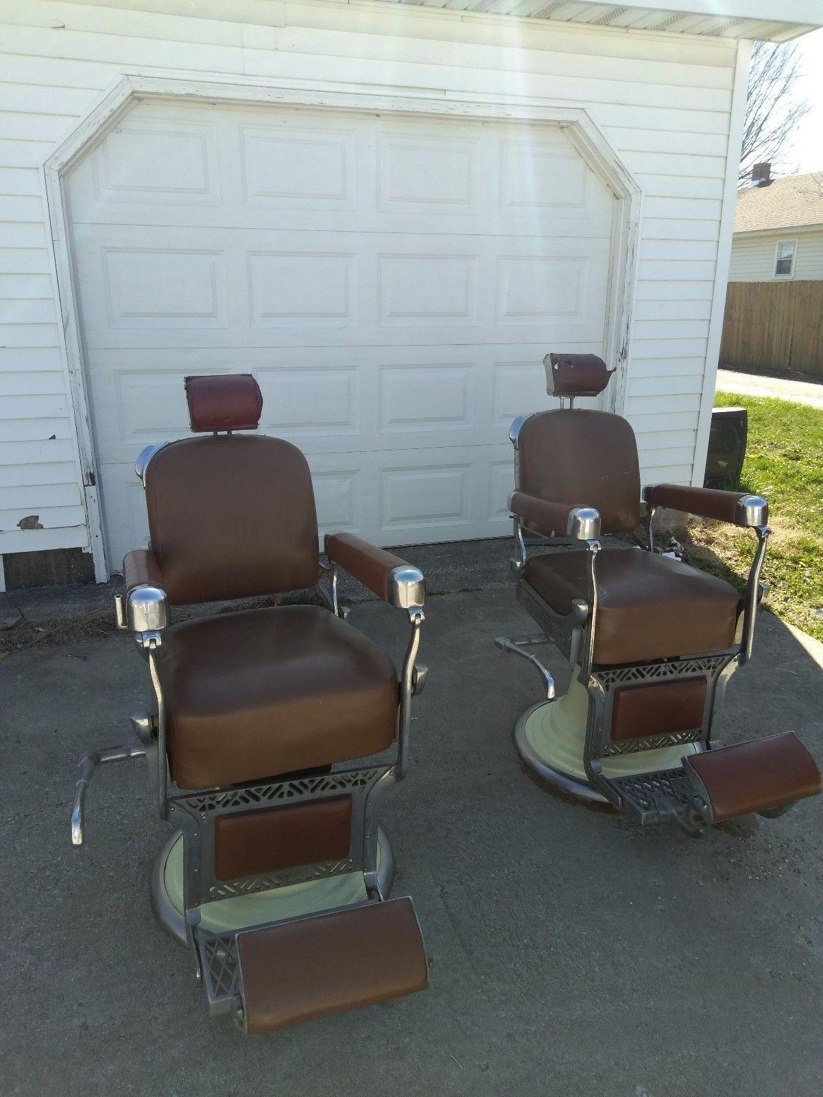 barber instappraisal koken antique image appraisal chair