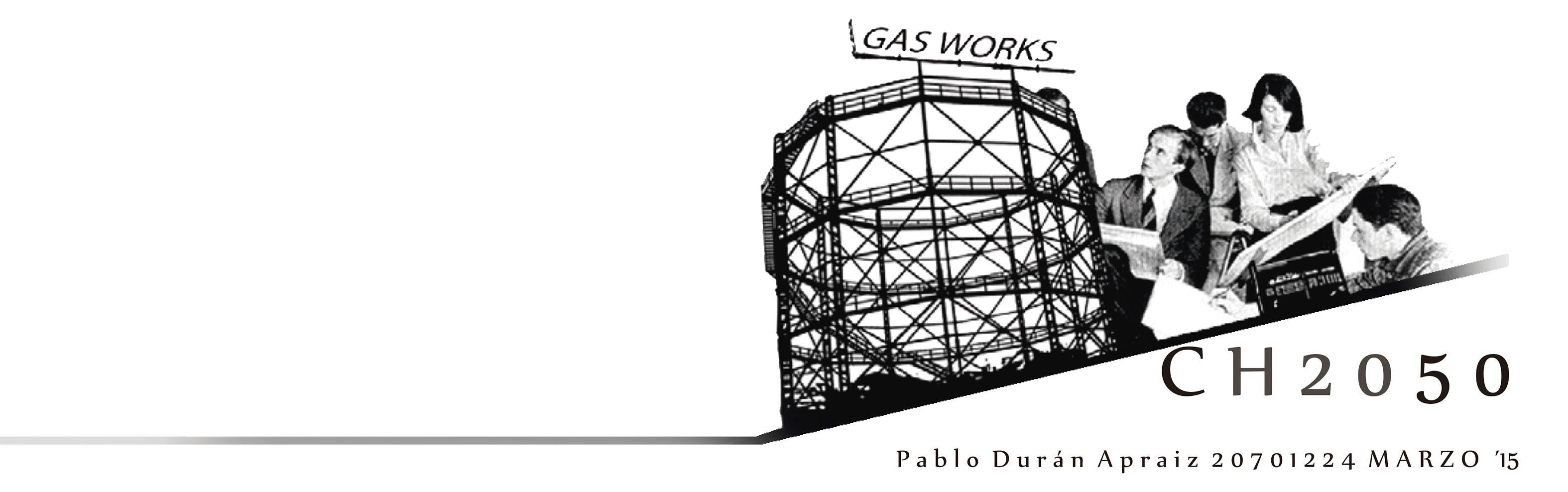 CH2050_Pablo Durán Apraiz  Centro expositivo y de divulgación sobre el Hidrógeno. Bromley by Bow Gasometers.