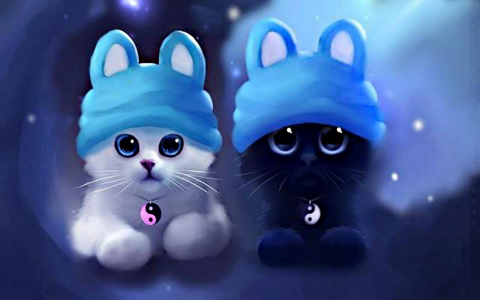 Cute Art Google Search With Images Cute Cat Wallpaper