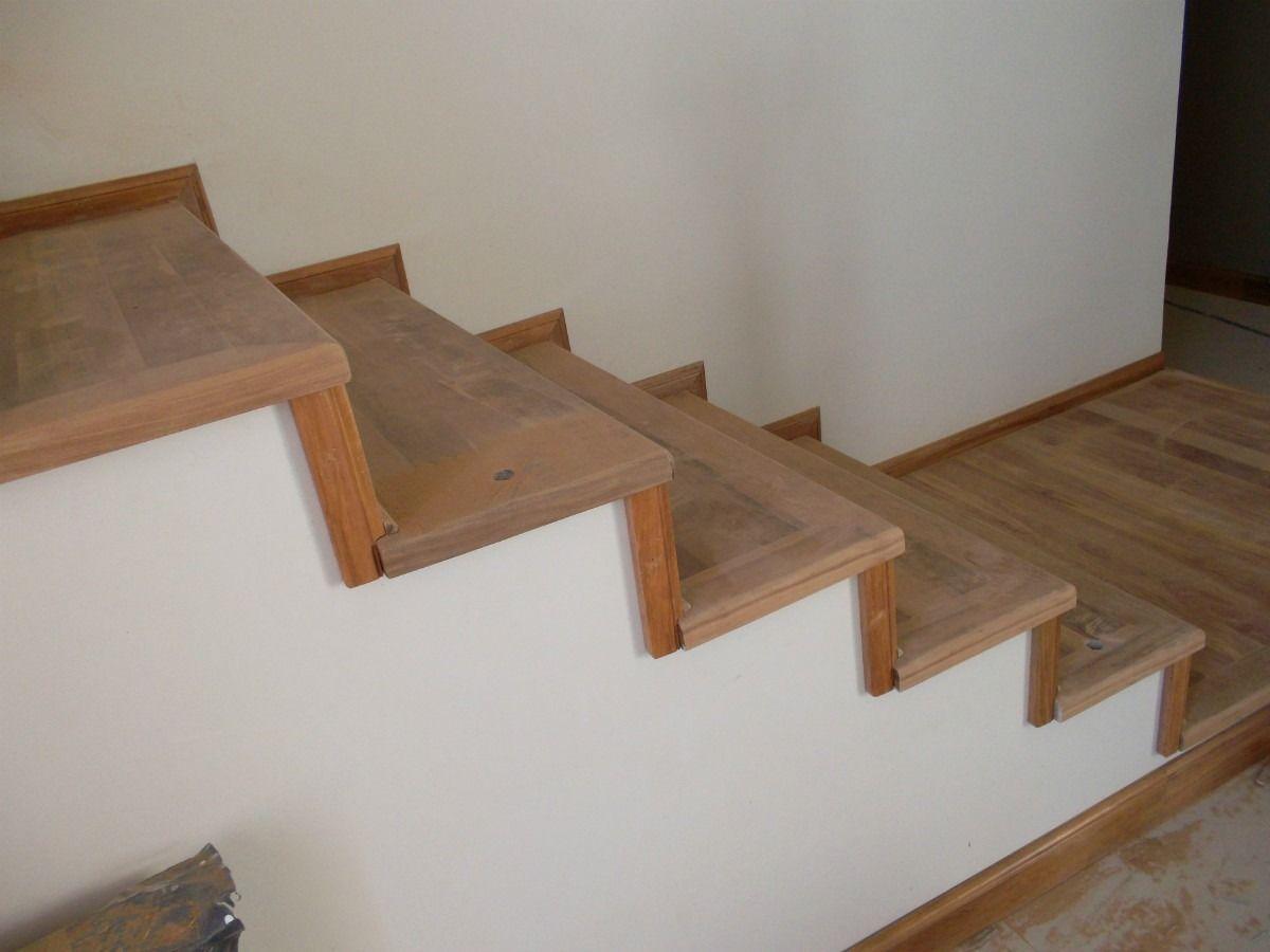 Venta de escaleras de madera artesanal 999 00 en for Casas con escaleras de madera