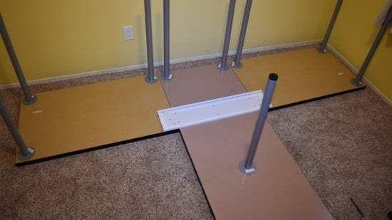 Hackers Help: Corner table without corner leg? - IKEA Hackers