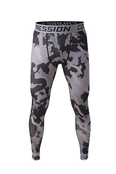 Camo Compression Pants - 15 Colors - S - XXL
