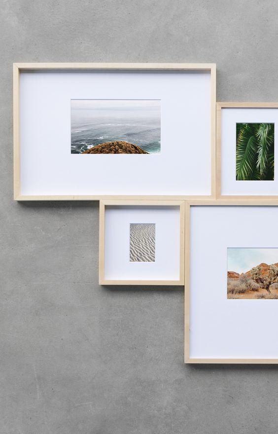 Framing Idea Decoracao Com Fotografias Exposicoes Fotograficas Parede De Quadros