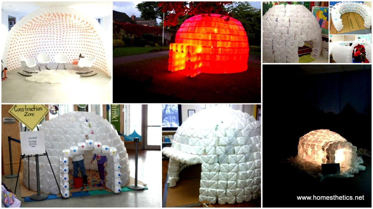 How to Build a Milk Jug Igloo And Sustain The Recycling