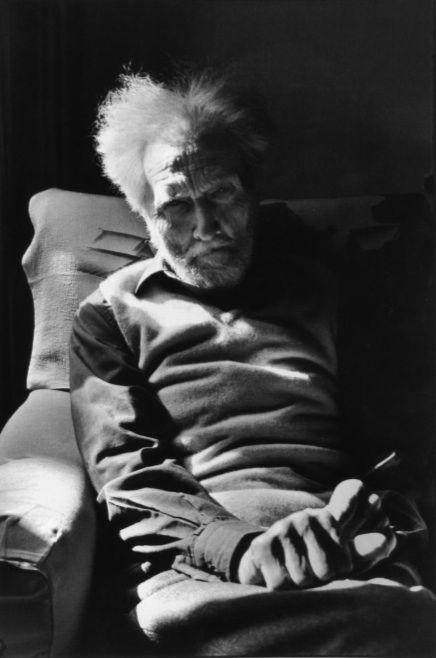 Ezra Pound. Henri Cartier-Bresson.
