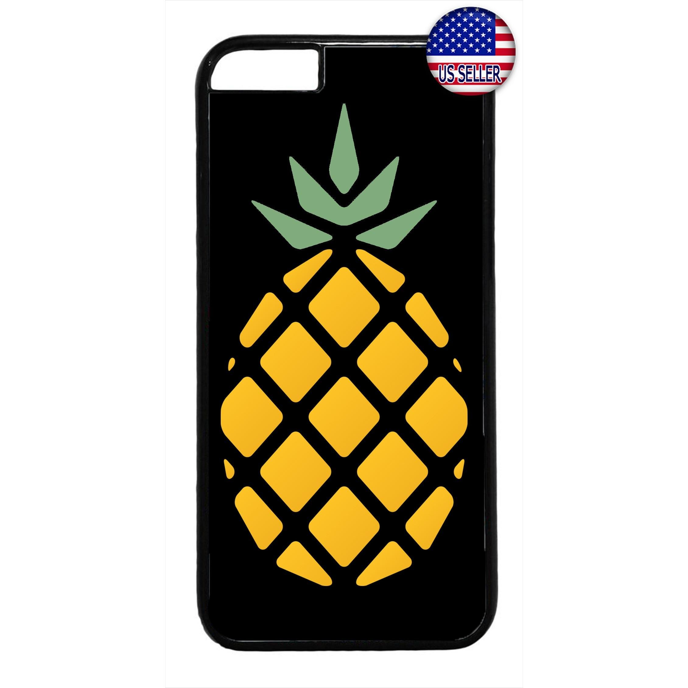 Pineapple Fruit Art Rubber Case Cover For Iphone