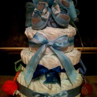 North Carolina Diaper Cake