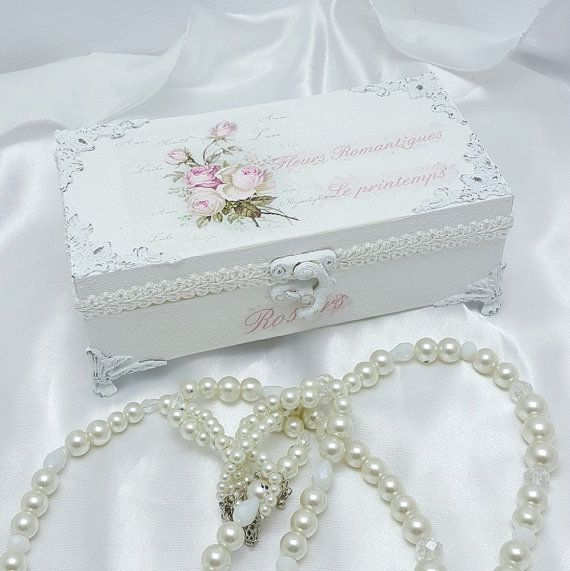 Wooden Jewellery Box , Cheap Christmas Gifts , Christmas Gifts For