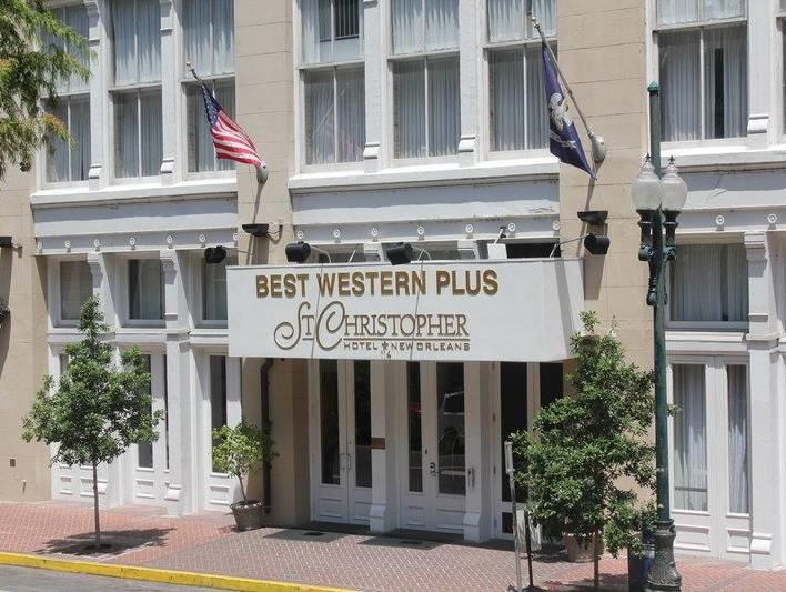 New Orleans (LA) Best Western PLUS St. Christopher Hotel United States, North America Set in a prime location of New Orleans (LA), Best Western PLUS St. Christopher Hotel puts everything the city has to offer just outside your doorstep. The hotel offers a high standard of service and amenities to suit the individual needs of all travelers. 24-hour front desk, facilities for disabled guests, express check-in/check-out, luggage storage, Wi-Fi in public areas are there for guest'...