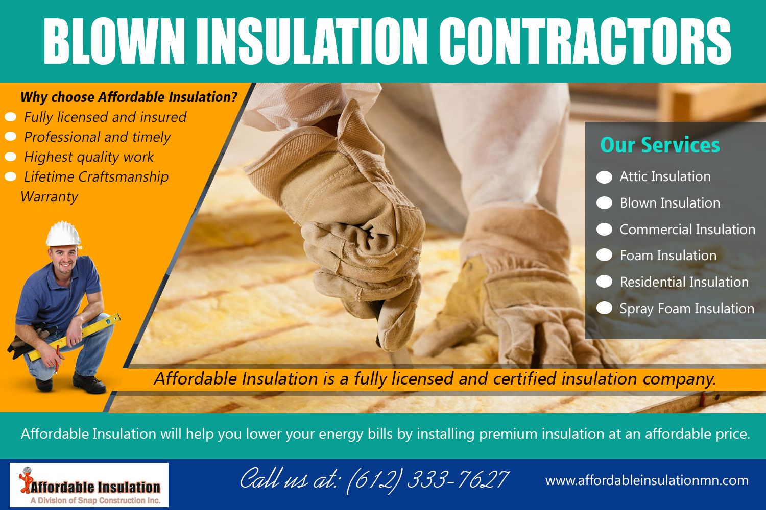 Insulation contractors can maximize a homeowner's