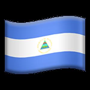 Flag Of Nicaragua Emoji Flag Nicaragua
