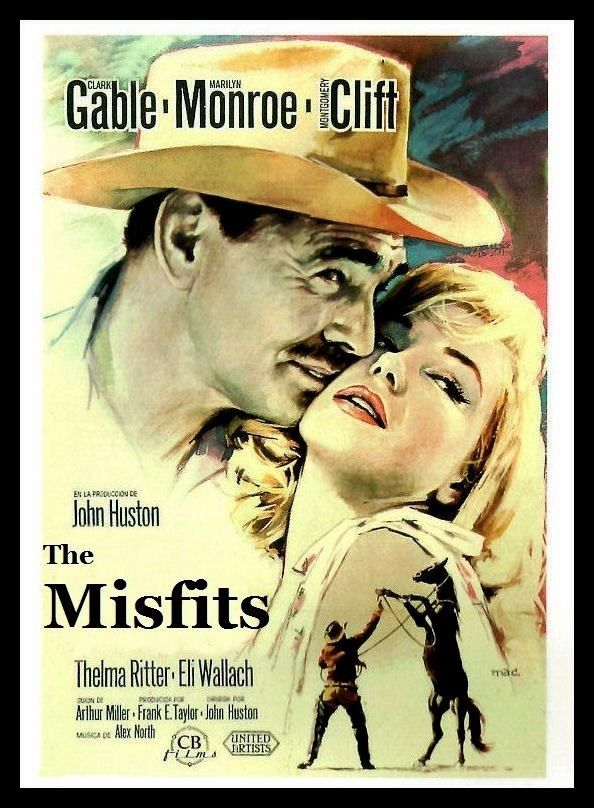 Details About Marilyn Monroe Fridge Magnet The Misfits Movie Poster 6x8 Clark Gable Marilyn Monroe Movies Movie Posters Vintage Old Movie Posters