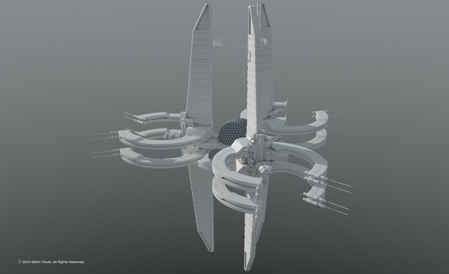 Space station concepts quick designs by glennclovis for Space concept