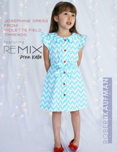 cb66b0a25e Josephine dress from Violette Field Threads feat. Remix by Ann Kelle ...