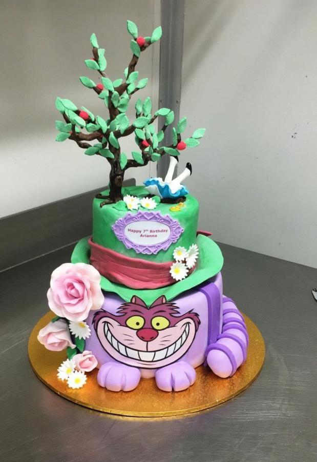 Cake Art Wonderland : Alice in Wonderland cake by Galyna Harb Cakes & Cake ...