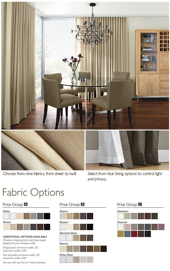 Bedroom Drapery Ripple Fold Custom Window Treatments Room Board