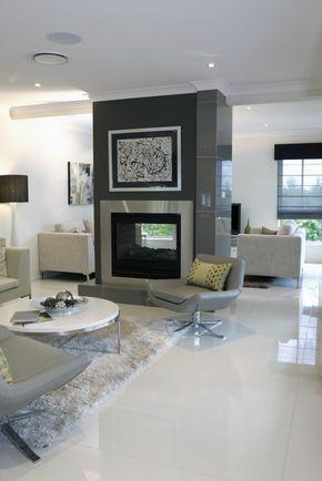 Bodenfliesen Große Weiße Fliesen Wohnzimmer Gestalten (Cool Rooms  Decorations)