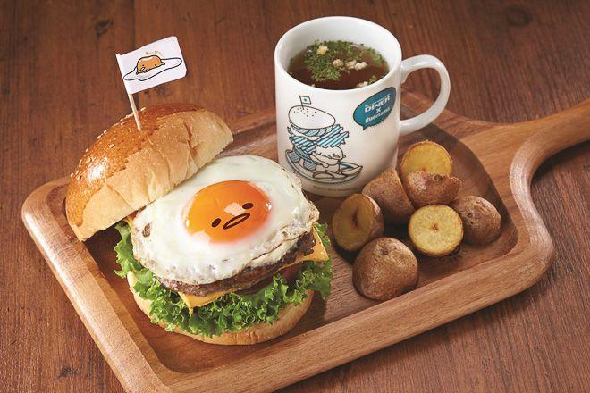 盡情懶洋洋!「蛋黃哥」咖啡廳期間限定開張 也有特製的原創菜單喔 @ 好台灣 :: aTaiwan.net