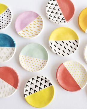Des assiettes Ikea personnalisées #potteryclasses
