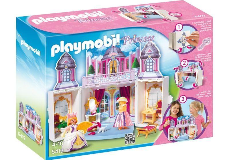 Playmobil 5419 - Take-along Princess Castle - Box ...