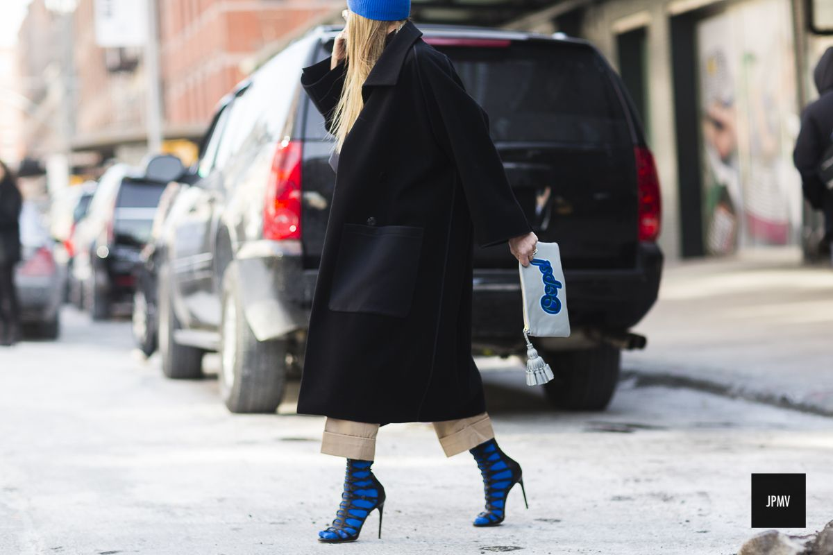 New York Fashion Week Fall Winter 2015.