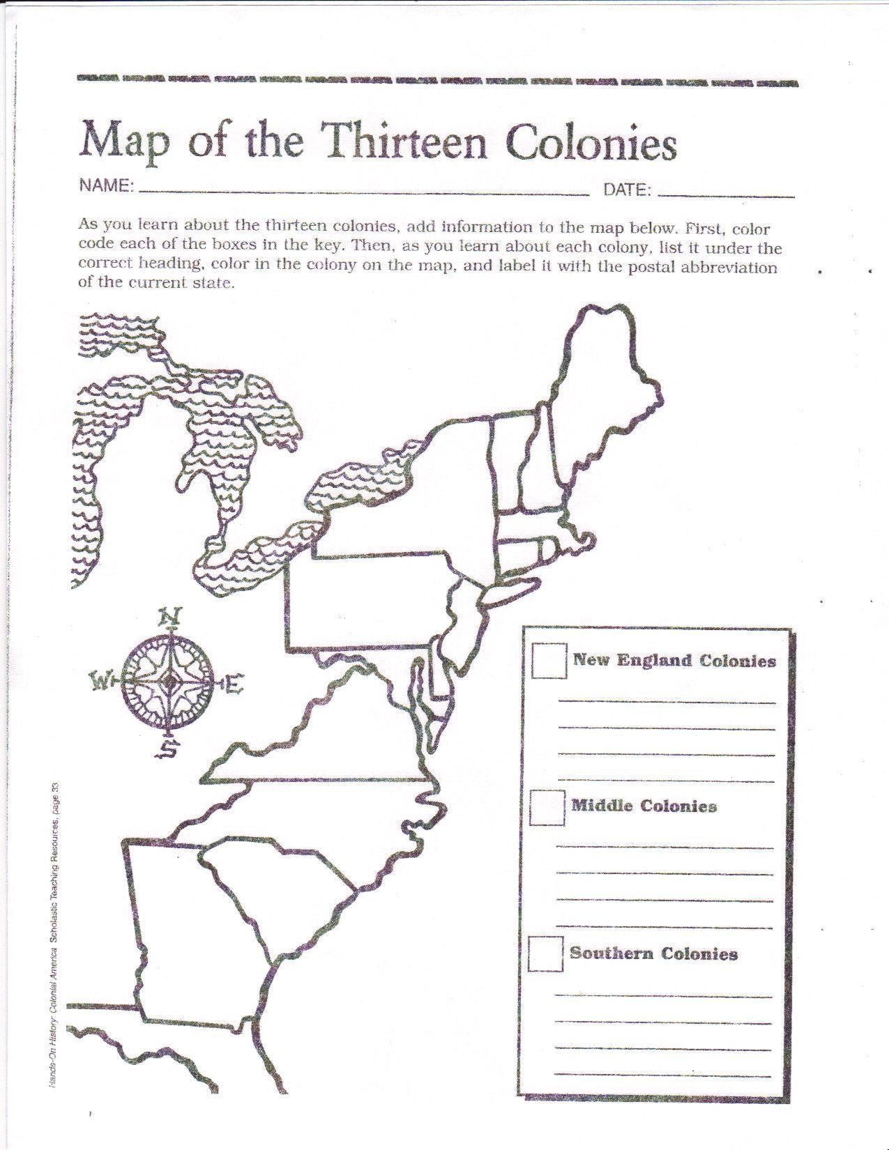 Blank Map Of The 13 Original Colonies Google Search Social Studies Worksheets 13 Colonies Map In 2021 13 Colonies Map Social Studies Worksheets 13 Colonies Activities
