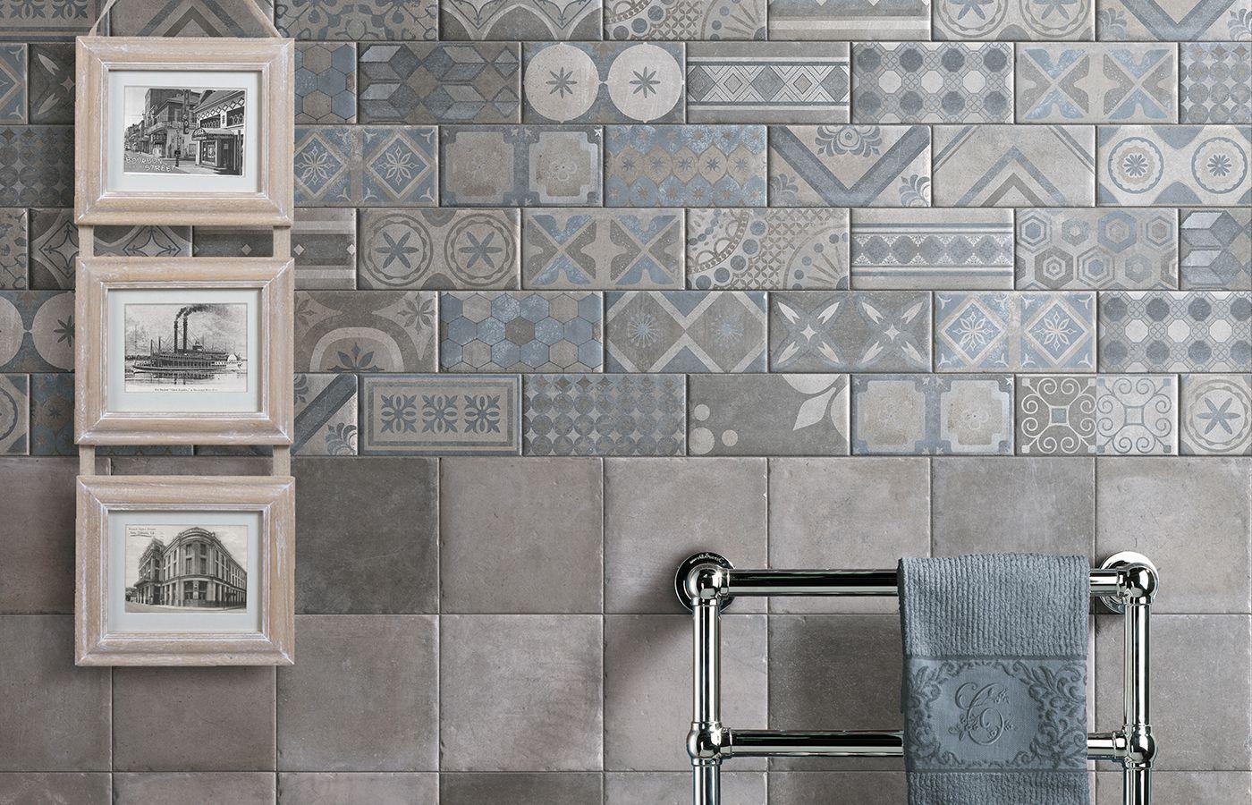 Classic cir manifatture ceramiche new orleans - Piastrelle 10x10 bagno ...