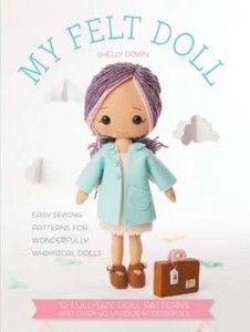 image about Free Printable Felt Doll Patterns referred to as My Felt Doll Cost-free Felt Job  dolls Felt