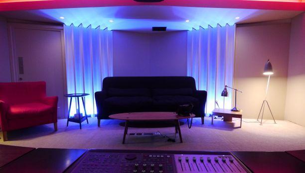 home studio setup music studio room