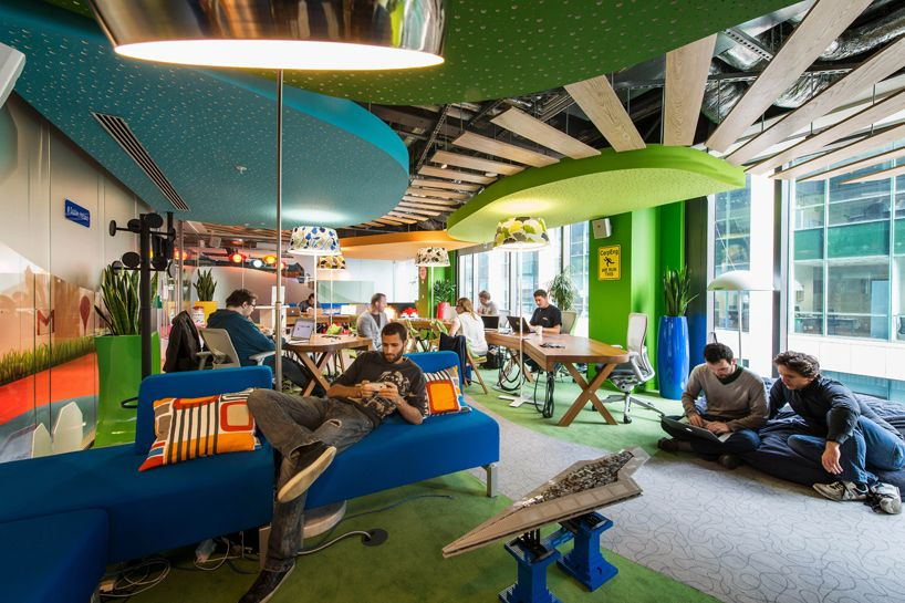 Interview With Evolution Design The Firm Behind Many Of Google S Global Offices Thiết Kế Nội Thất Văn Phong Văn Phong Thiết Kế