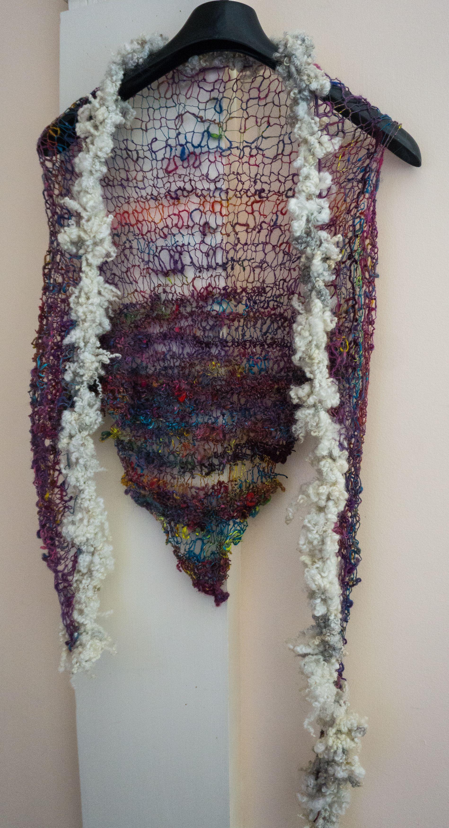 shawlette-6 by Wool Wench | Mori Boy | Pinterest | Yarns, Art yarn ...
