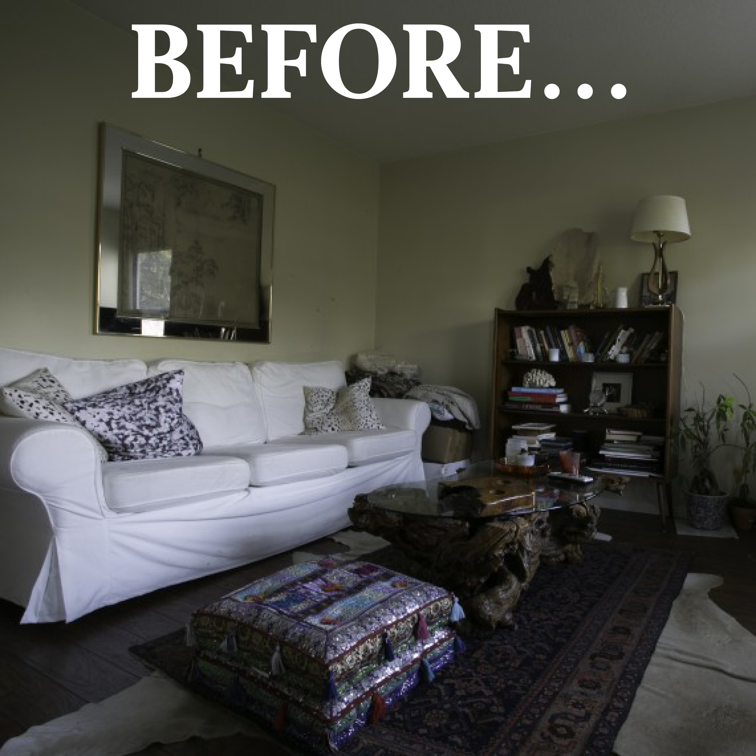 Not Just Another Home Decor Site: A Surprise Home Makeover! One House Goes From Shabby To