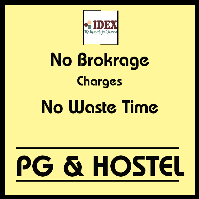 No Brokrage Chares For Pg And Hostel Plz Call Us 18001205404 Idexworldwide Tech Company Logos Company Logo Hostel