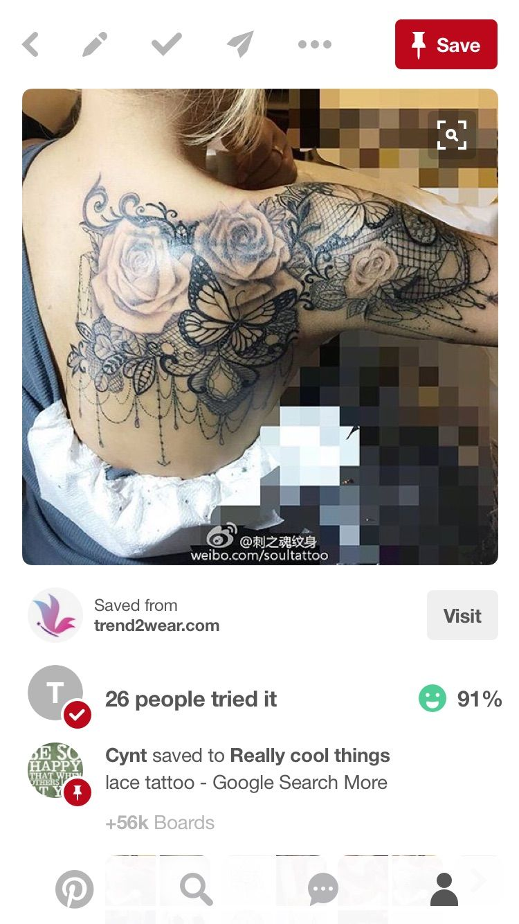Pin by Cynt MOCHOA on Art Quarter sleeve tattoos, Lace