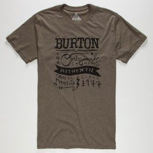 BURTON Workwear Mens T-Shirt / k, it's a dudes shirt but I still want that shit! all I gotta do is chop the sleeves, chop the collar ring, and take in on the side to be fitted to my bod, and perfecto!