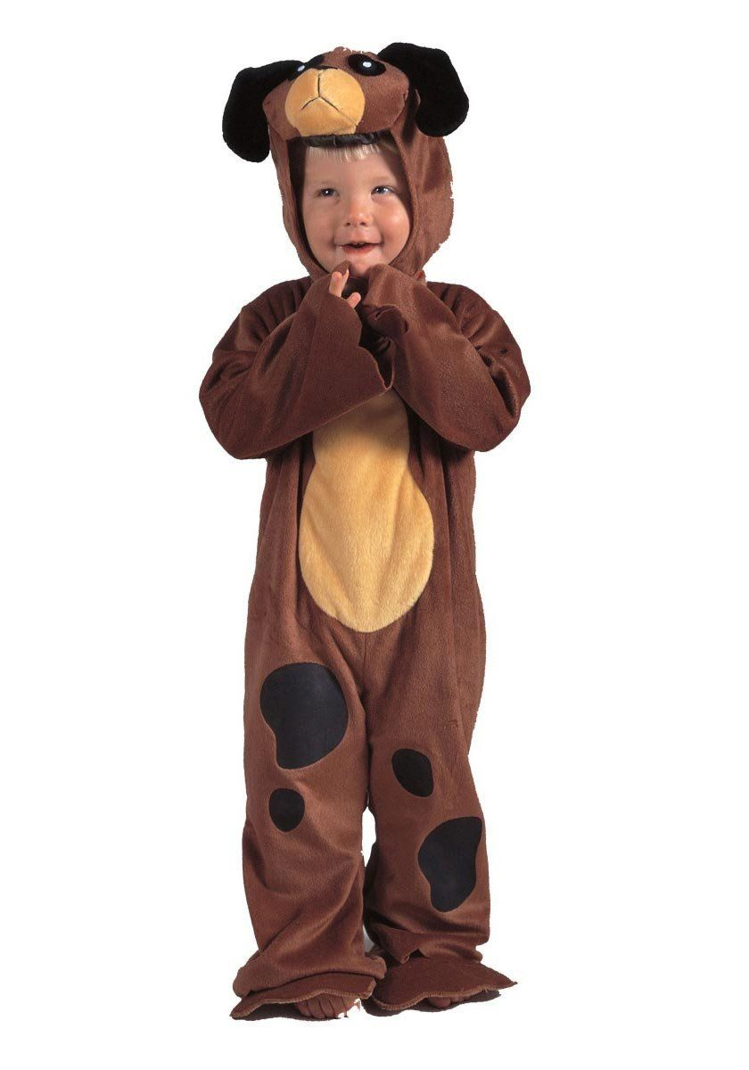 Amazon.com: Li'l Fuzzy Puppy Toddler Costume, 2T-4T, Brown: Toys & Games