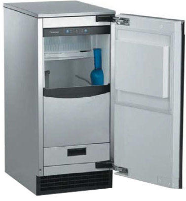 U Line Vs Scotsman Clear Ice Makers Reviews Ratings Prices Ice Storage Outdoor Ice Machine Stainless Steel Cabinets