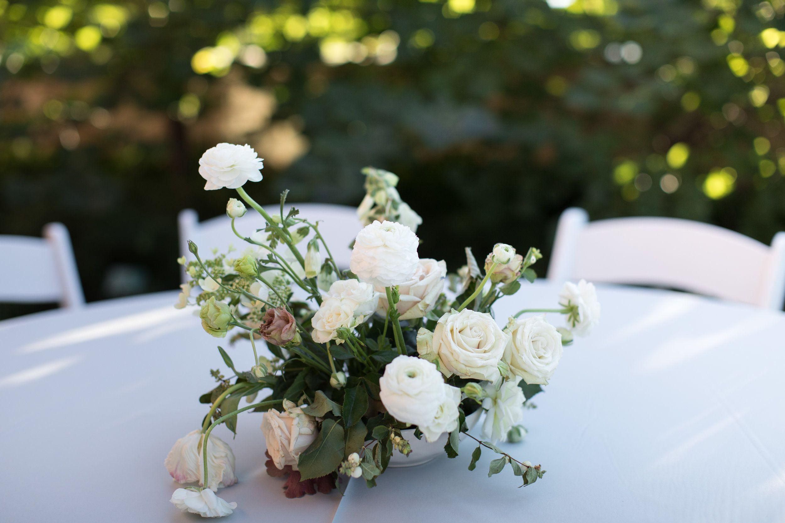 Rachael & Adam's Rose Garden Wedding — Michelle Leo Events