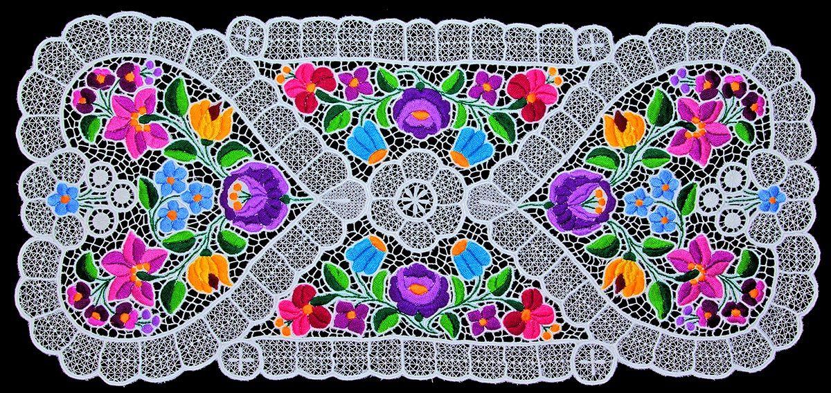 folk art artes populares volkskunst népművészet kalocsa | PINs de ...