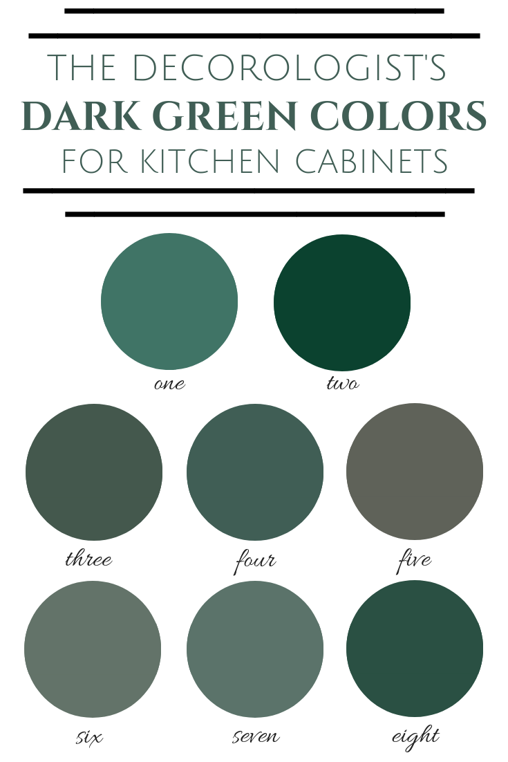 14 room decor Green cabinet colors ideas