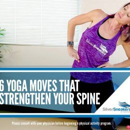 6 yoga poses that strengthen your spine  senior fitness