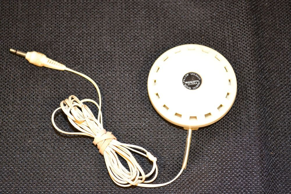 Details about Realistic 33-206A Pillow Speaker - Vintage Radio Shack Sleep  Aid