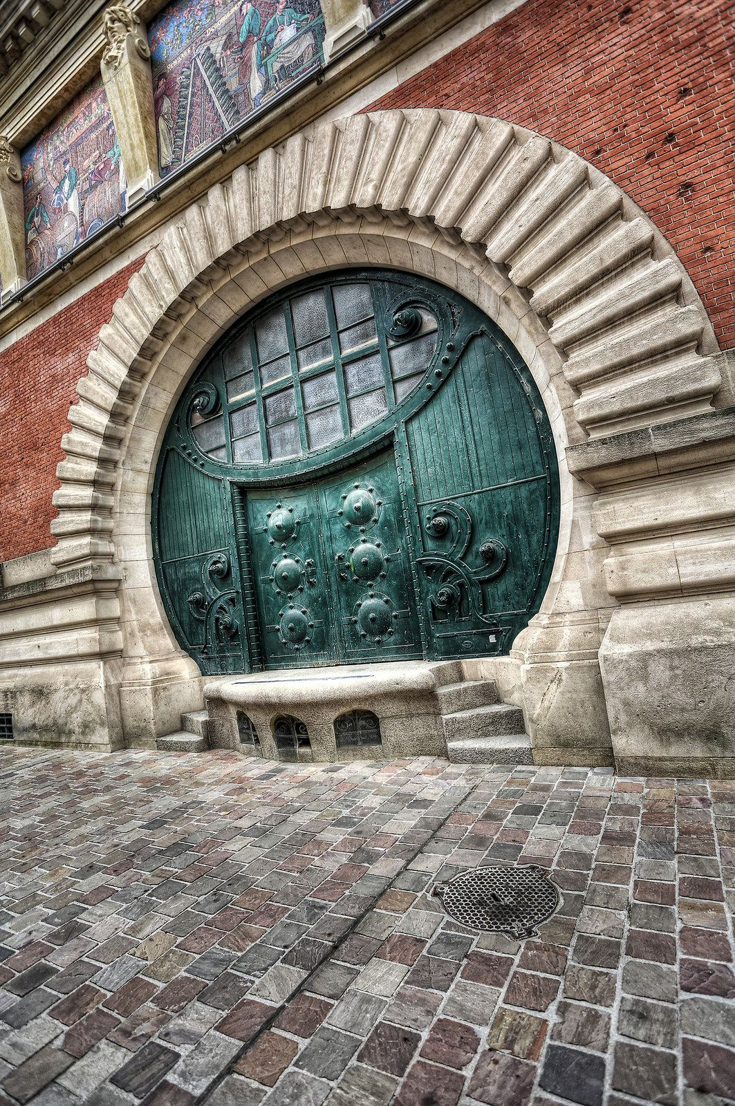 Decorating circular door images : Stunning circular door <3 | ❥ Doors and Windows ❥ | Pinterest ...