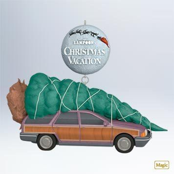 """NEED!!! Amazon.com: Hallmark 2011 Christmas Vacation """"The Griswold Family Christmas Tree"""" Ornament: Home & Kitchen"""