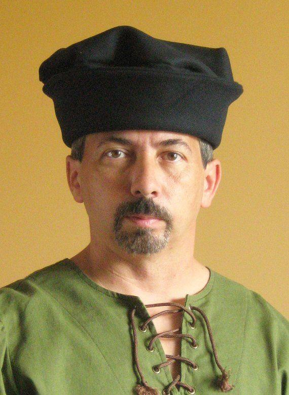 Medieval Celtic Renaissance Tudor Borgias Larp SCA Noble Hat in 2019 ... 505cd565f2cb