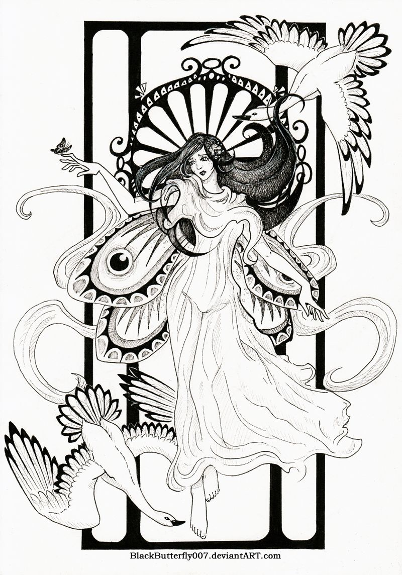 Art nouveau by siartviantart on deviantart iud like to