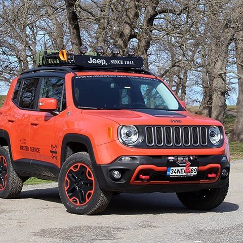 Jeep Renegade Trailhawk 4x4 Offroad Tuning Custom Modify