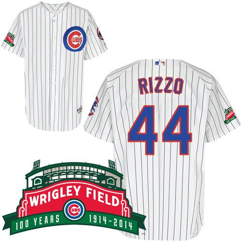reputable site ec65f 24908 Anthony Rizzo Chicago Cubs Authentic 2014 Home Jersey w ...