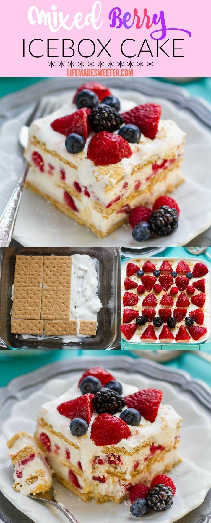 Berry Dessert Recipes Summer